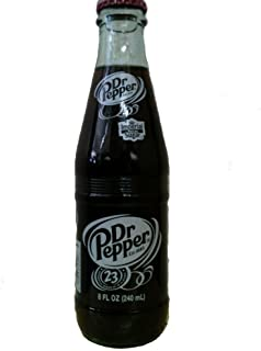 Original Dr. Pepper Made with Imperial Cane Sugar 2 - 6 Packs (12 - 8 Oz. Glass Bottles) (Not Dublin)