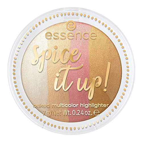 Essence Spice it up! Baked multicolor highlighter Nr. 01 more is more Inhalt: 7g Gebackener mehrfarbiges highlighter Puder
