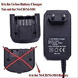Immagine 1 caricabatterie lithiumion per batterie black
