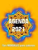 AGENDA 2021. Con MANDALAS para colorear
