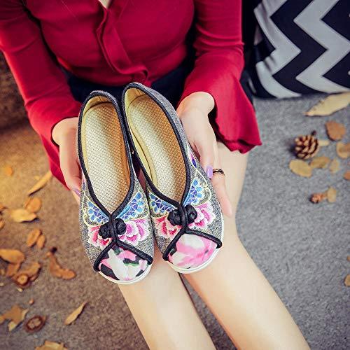 Solos Zapatos De Ropa De Zapatos Deportivos Mecedoras Hebill