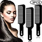Best Barber Combs - 3 Pack Barber Combs Clipper Comb Flat Top Review