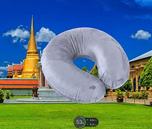 Best Healthy Xmas Gift Natural Thailand Latex O Shape Travel Pillow 11.8'11.8'3.94'