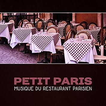 Petit Paris - Musique du restaurant parisien, Dîner traditionnel français, Meilleur accordéon et musique de piano