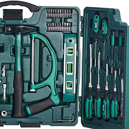 Mannesmann 89-teiliger Premium Universal- und Haushalts-Werkzeugkoffer, M29085 - 4