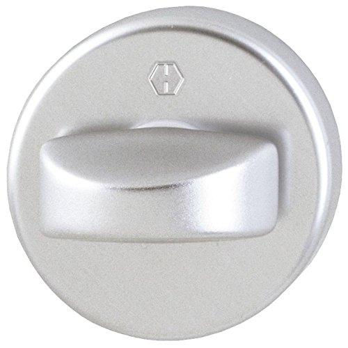 HOPPE 6988513 Drehknopf für Türspalt-Sicherung, 8 X 40, Aluminium