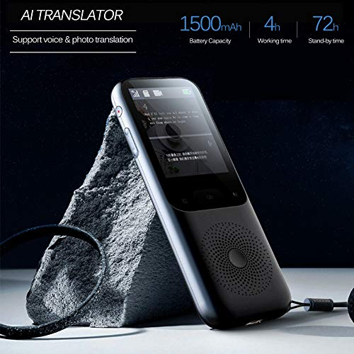 Smart Voice Language Translator Device, Portable Translator Real-time, Voice/Photo/Recording Translation, WiFi/Hotspot/Offline, Support 137 Languages Photo #5