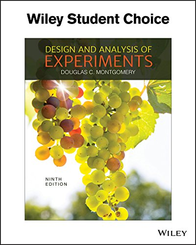 DESIGN+ANALYSIS OF EXPERIMENTS
