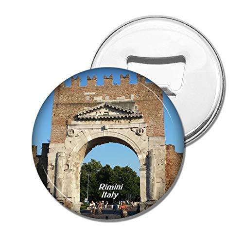 Weekino Italien Arco di Augustus Rimini Bier Flaschenöffner Kühlschrank Magnet Metall Souvenir Reise Gift