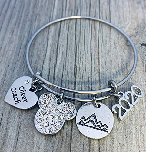 Cheer Coach Bracelet- 2021 All Star Cheerleading Summit Bracelet for Cheerleading Coaches, Cheer Bracelet, Perfect Worlds, D2 Summit Gift