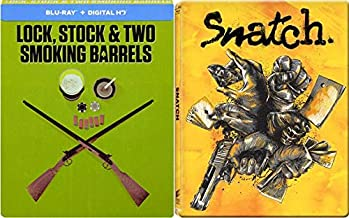 East London Crime Comedy Cappers: Lock Stock And Two Smoking Barrels (Blu-Ray Rare Steelbook) + Snatch (Blu-Ray RARE Steelbook) Guy Ritchie Bundle