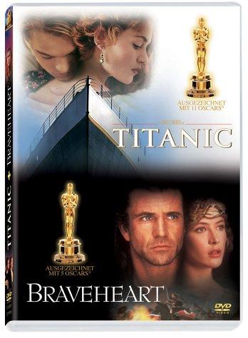 Braveheart / Titanic [2 DVDs]