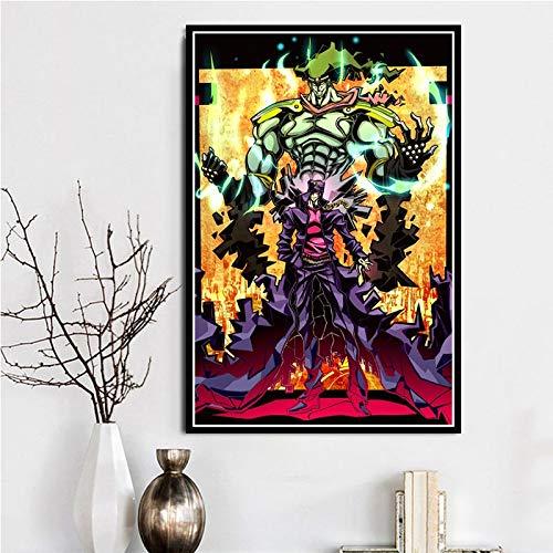 KWzEQ Hot Anime Avventura Regalo Poster Stampa Foto Decorazione della casa,Pittura Senza Cornice,50X75cm