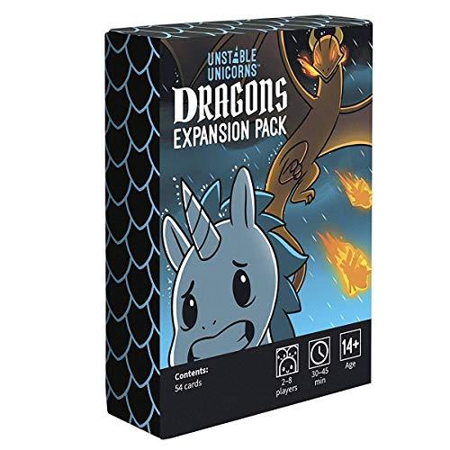 Beyond the game Más allá del Juego inestable Unicornios Dragones Paquete de expansión Tarjeta de Cubierta Juegos/Adolescentes