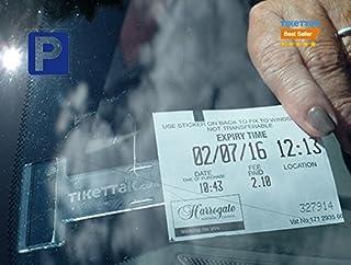 Tikettak - Auto, bestelwagen en caravan voorruit vergunning, ticket en notitiehouder (ongeldige parkeerboetes) (1)