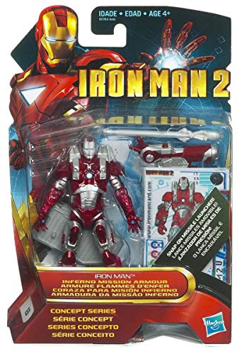 Figurine Iron man 2 Inferno mission armor
