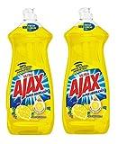 sunlight dishwashing liquid - Ajax Dishwashing Liquid, Super Degreaser, Lemon, 28 Ounce, 2 Pack