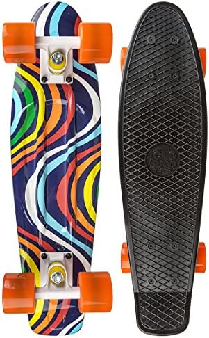 "Long Island 22-Inch ""Infinity"" Buddies Complete Skateboard"