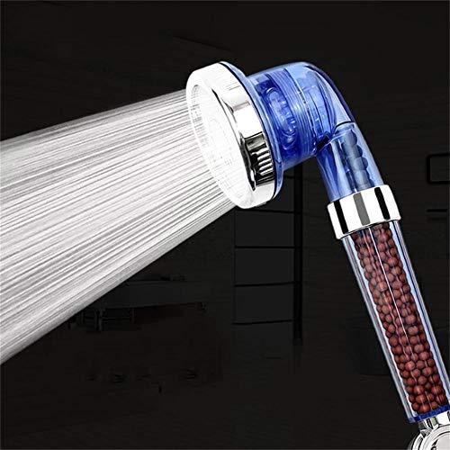 Ionen douchekop, met 3 standen instelbaar, filterfiltratie, waterbesparende hogedruk douchekop, kan de beste douche-ervaring bieden, negatieve ionen energie bal handdouche