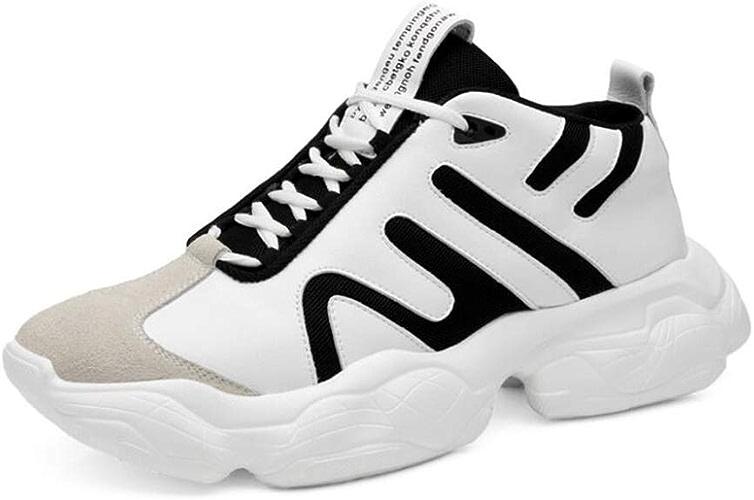 WYX Chaussures pour Hommes, Printemps Casual Chaussures 2019 Baskets Running Chaussures étudiants marée Chaussures Sport Sauvage male Noix de Coco Chaussures,A,44