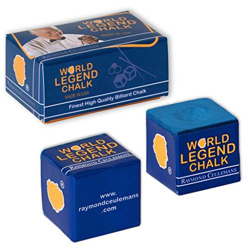 Raymond Ceulemans World Legend Pool cue Billiard Chalk 2 pcs/Box