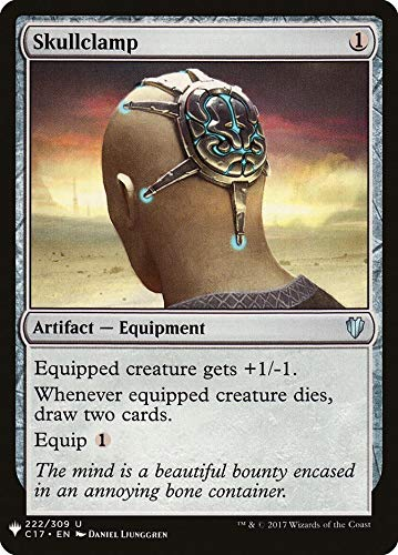 Magic: The Gathering - Skullclamp - Mystery Booster - Commander 2017
