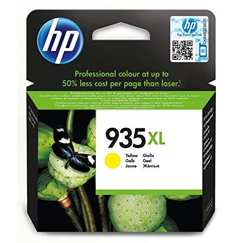 HP 935XL Gelb Original Druckerpatrone mit hoher Reichweite für HP Officejet Pro 6830, HP Officejet Pro 6230