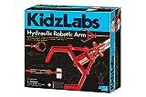 4M 403414 KidzLabs-Hydraulic Robotic Arm, Multicoloured
