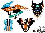 race-styles Pegatinas / decoración compatible con KTM 790 Adventure R 2019   Factory Decals KIT Graphics