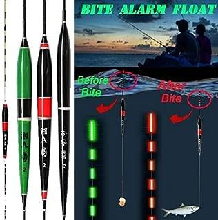 Zconmotarich Electronic LED Light Automatically Fish Bite Alarm Night Fishing Floats Bobbers