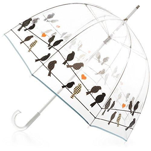 Classic Bubble Umbrella - Birds on a Wire
