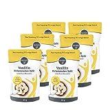 borchers 6 x Vanillin Birkenzucker   Zuckerfreie Alternative zu Vanillinzucker   65 g pro Dose