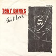Tony Banks - This Is Love - Charisma - 814 946-7