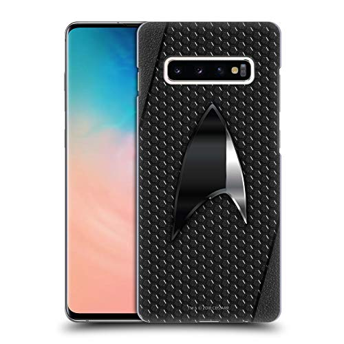 Head Case Designs Officially Licensed Star Trek Discovery Negro Badges Hard Back Case Compatible with Samsung Galaxy S10+ / S10 Plus