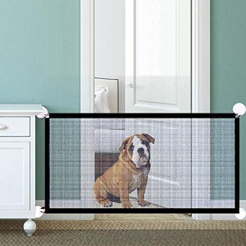 NIBESSER Hundebarrieren Tragbar Hunde Türschutzgitter Faltbar Hundeschutzgitter Treppenschutzgitter Absperrgitter für Haustier Hunde Katzen