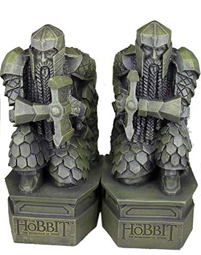 Hobbit-Buchstützen, Herr der Ringe Skulptur Hobbit Smaug Statue Buch Schreibtisch Schreibtisch Ornamente Schmuck