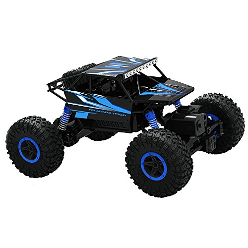Top Race RC afstandsbediening auto Rock Crawler / Monster Truck 4WD / Off Road auto's 2,4 GHz batterijen voertuig speelgoed. TR-130