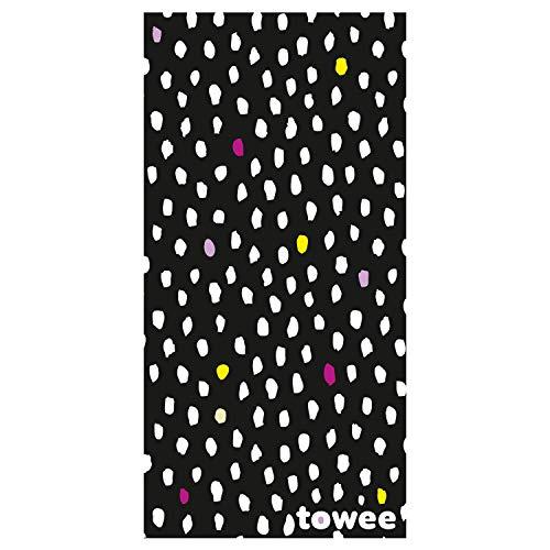 Towee schnelltrocknendes Handtuch für Kinder, Handtuch für Schwimmer für Kinder, Kinder mikrofaser reisehandtuch mit Motiv (Minimal)