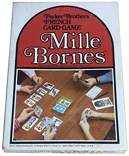 Mille Bornes Vintage Card Game 1971 Edition