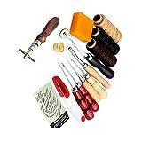 ParaCity suministros de costura, para artesanías y costura a mano, hilos de cuero, herramientas de costura.
