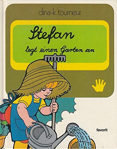Stefan legt einen Garten an (Schreibschrift)