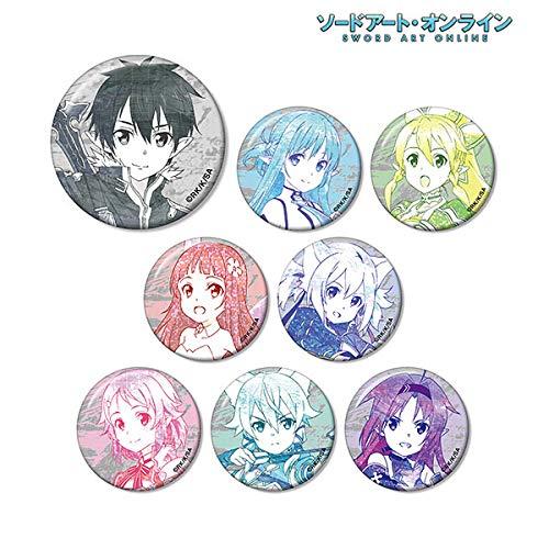 ソードアート・オンライン トレーディング Ani-Art 缶バッジ BOX商品