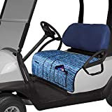 TUYUU Golf Cart Seat Cover with Pockets, Golf Cart Seat Blanket for Summer,Seat Cover Fits Most of Golf Car 2-seat
