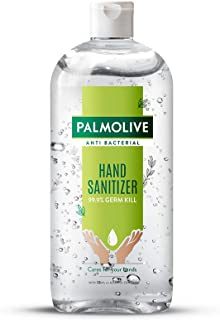 Palmolive Antibacterial Hand Sanitizer, 72% Alcohol Based Sanitizer, Kills Germs Instantly, Non Sticky, Gentle on Hands, 5...