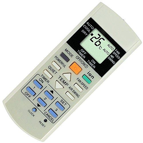 Reemplazo mando a distancia para PANASONIC aire acondicionado modelo a75C3299a75C2596a75C2600a75C2644a75C2650a75C3156a75C2600a75C2602a75C2606a75C2632a75C2656...