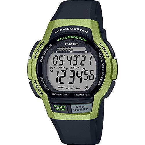 Casio Orologio Cronografo Digitale Quarzo Unisex Adulto con Cinturino in...