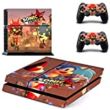 TSWEET Juego Sonic Forces Ps4 Skin Sticker para Playstation 4...