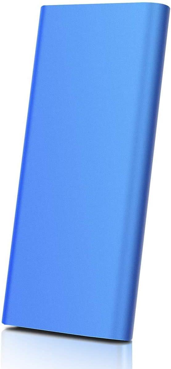 Portable External Hard Drive 1TB 2TB Portable Hard Drive External Type C USB3.1 HDD Storage Compatible for Mac, PC, Desktop, Laptop, Xbox One (A-2TB-Blue)