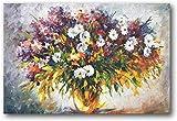 Lienzos Decorativos Leonid Afremov pintura lila y manzanilla...