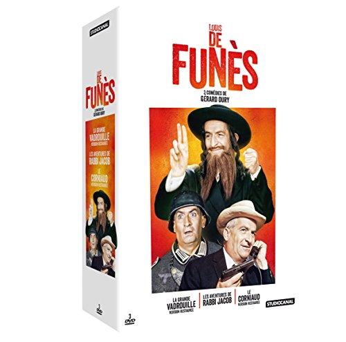 Louis de Funès-3 comédies de Gérard Oury : La Grande vadrouille + Le corniaud + Les Aventures de Rabbi Jacob
